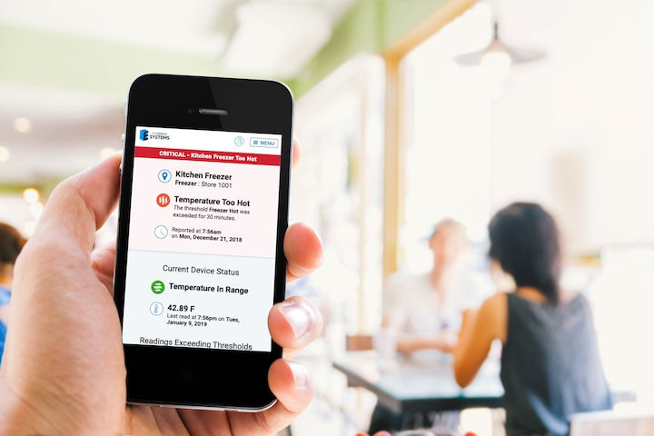 Smart monitoring technology helps restaurants reopen